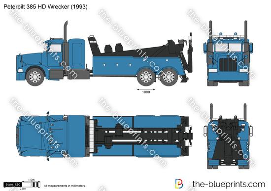 Peterbilt 385 HD Wrecker