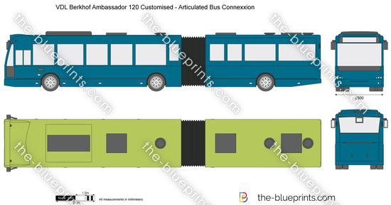 VDL Berkhof Ambassador 120 Customised - Articulated Bus Connexxion