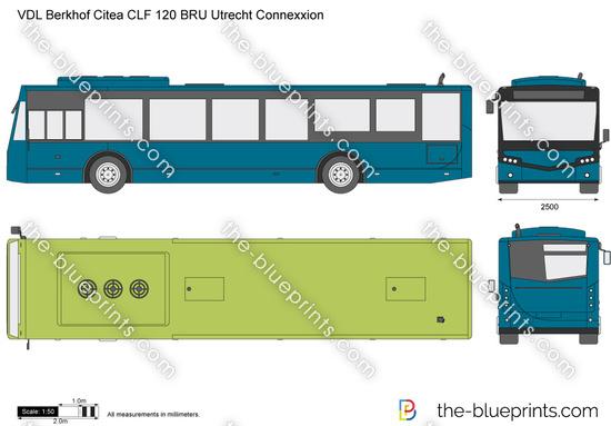VDL Berkhof Citea CLF 120 BRU Utrecht Connexxion