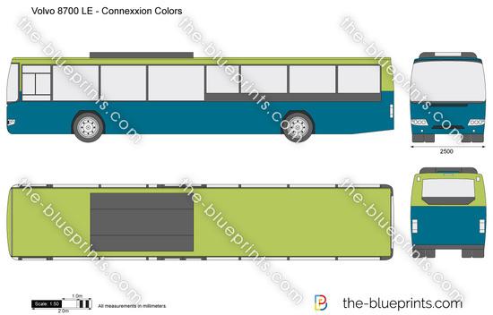 Volvo 8700 LE - Connexxion Colors