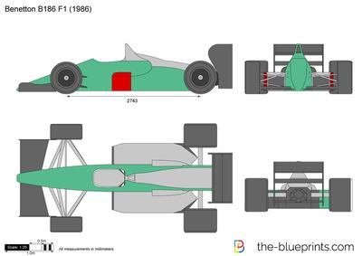 Benetton B186 F1 (1986)