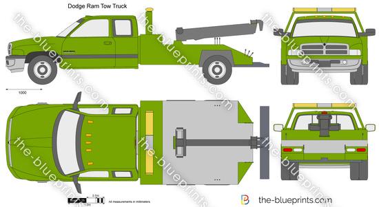 Dodge Ram Tow Truck