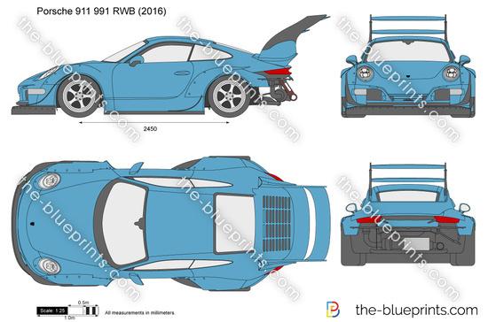 Porsche 911 991 RWB