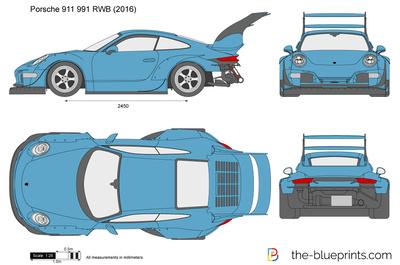 Porsche 911 991 RWB (2016)