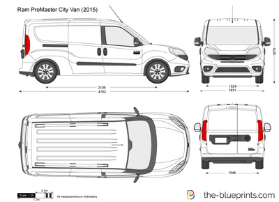 Ram ProMaster City Van