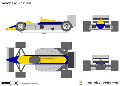 Williams FW11 F1 (1986)