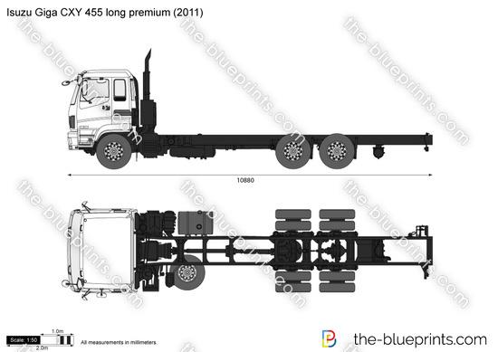 Isuzu Giga CXY 455 long premium