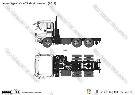 Isuzu Giga CXY 455 short premium