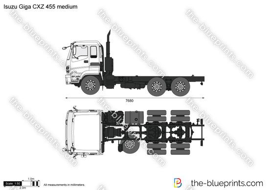 Isuzu Giga CXZ 455 medium