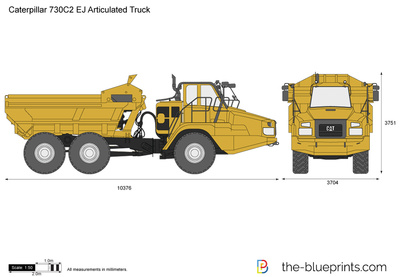 Caterpillar 730C2 EJ Articulated Truck