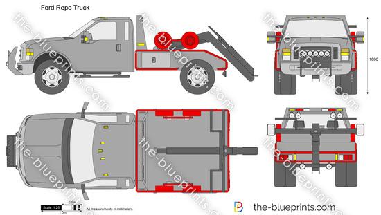 Ford Repo Truck