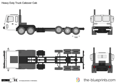 Heavy Duty Truck Cabover Cab