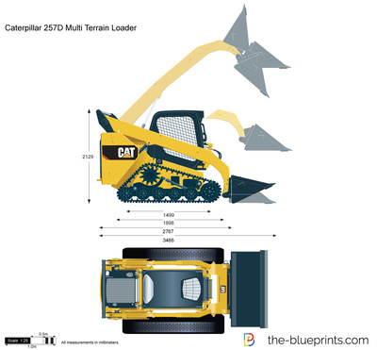 Caterpillar 257D Multi Terrain Loader