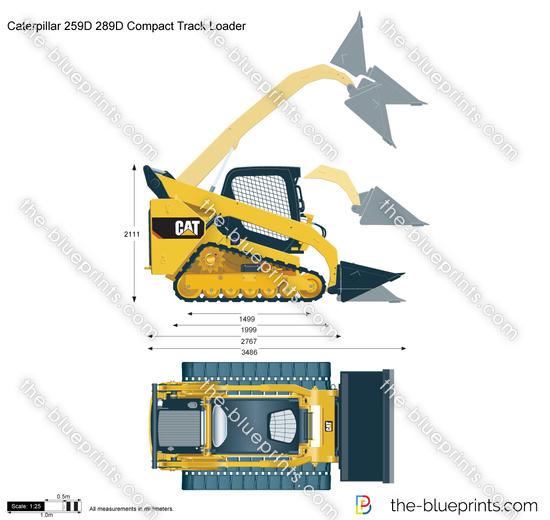 Caterpillar 259D 289D Compact Track Loader