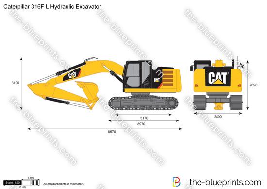 Caterpillar 316F L Hydraulic Excavator