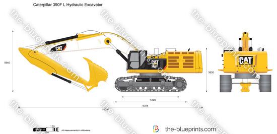 Caterpillar 390F L Hydraulic Excavator
