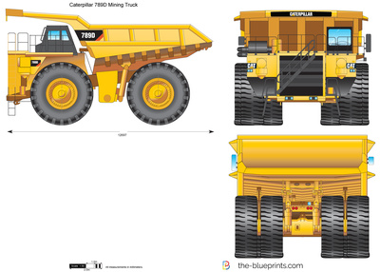 Caterpillar 789D Mining Truck