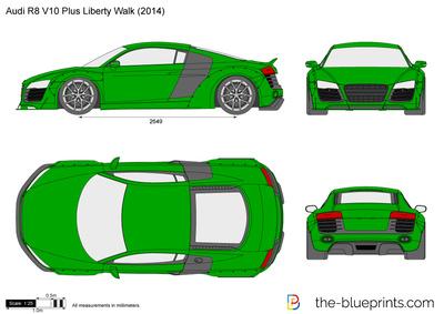 Audi R8 V10 Plus Liberty Walk