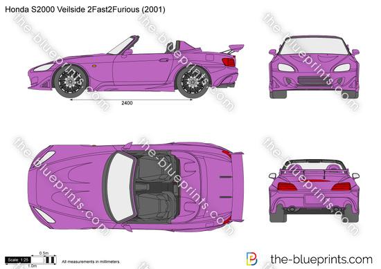 Honda S2000 Veilside 2Fast2Furious