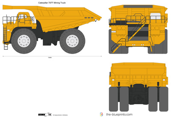 Caterpillar 797F Mining Truck