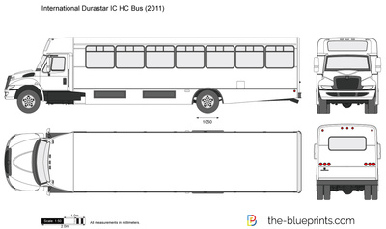 International Durastar IC HC Bus