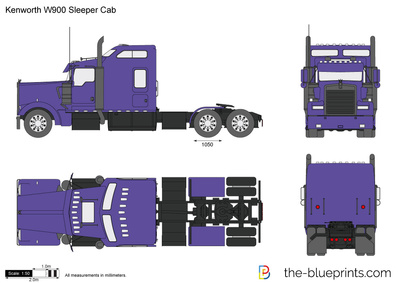 Kenworth W900 Sleeper Cab