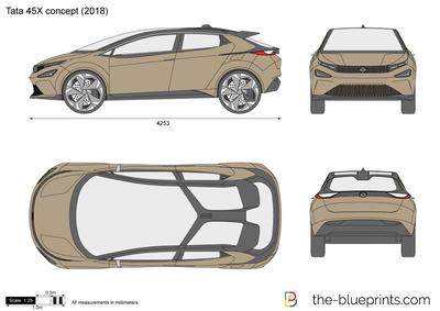 Tata 45X concept (2018)