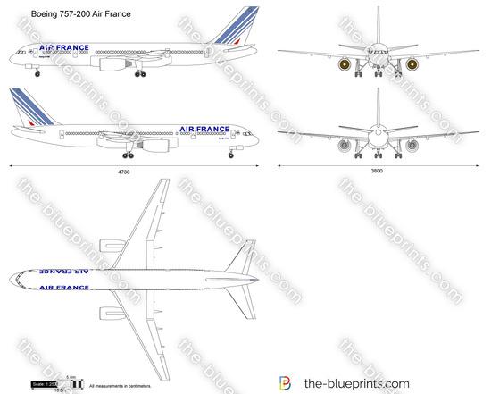 Boeing 757-200 Air France