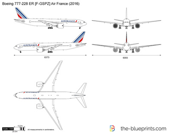 Boeing 777-228 ER [F-GSPZ] Air France