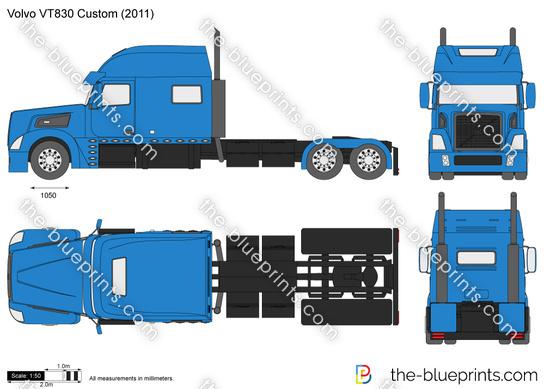 Volvo VT830 Custom