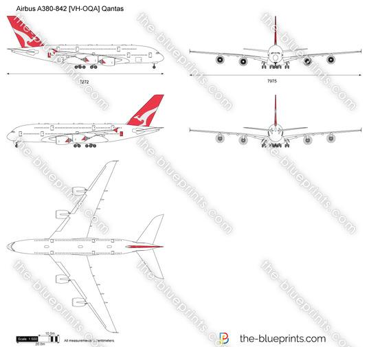 Airbus A380-842 [VH-OQA] Qantas