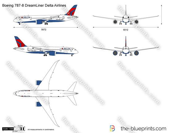 Boeing 787-8 DreamLiner Delta Airlines