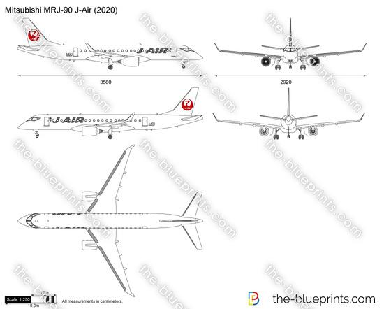 Mitsubishi MRJ-90 J-Air