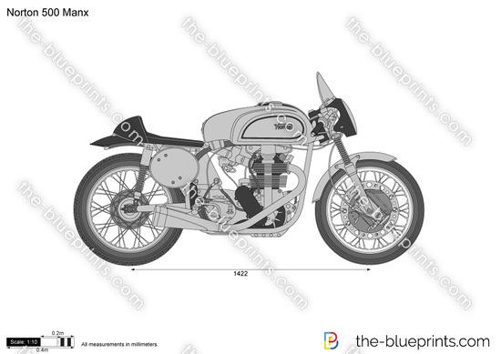 Norton 500 Manx