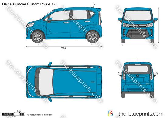 Daihatsu Move Custom RS