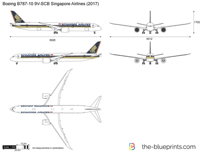 Boeing B787-10 9V-SCB Singapore Airlines