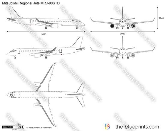 Mitsubishi Regional Jets MRJ-90STD