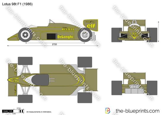 Lotus 98t F1