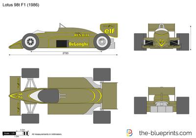 Lotus 98t F1 (1986)
