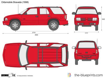 Oldsmobile Bravada (1998)