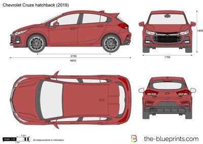 Chevrolet Cruze hatchback (2019)
