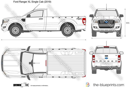 Ford Ranger XL Single Cab