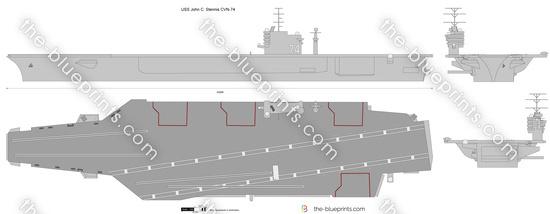 USS John C. Stennis CVN-74
