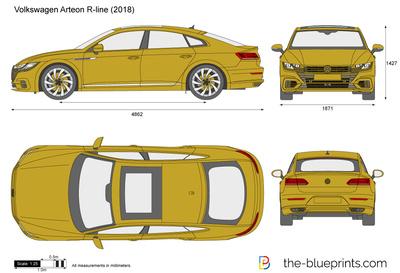 Volkswagen Arteon R-line (2018)