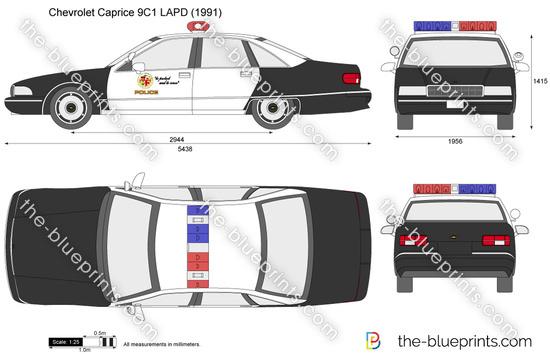Chevrolet Caprice 9C1 LAPD