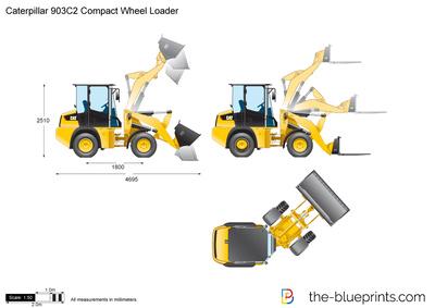 Caterpillar 903C2 Compact Wheel Loader