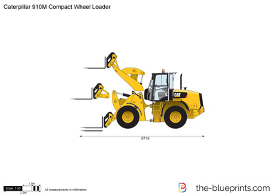 Caterpillar 910M Compact Wheel Loader