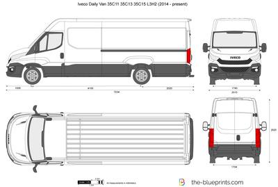 Iveco Daily Van 35C11 35C13 35C15 L3H2