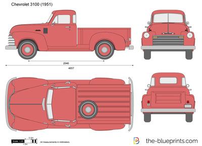 Chevrolet 3100 (1951)
