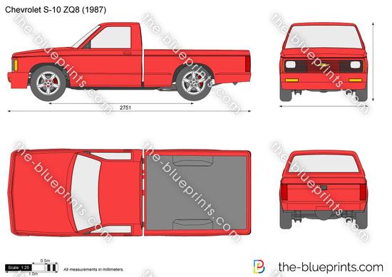 Chevrolet S-10 ZQ8